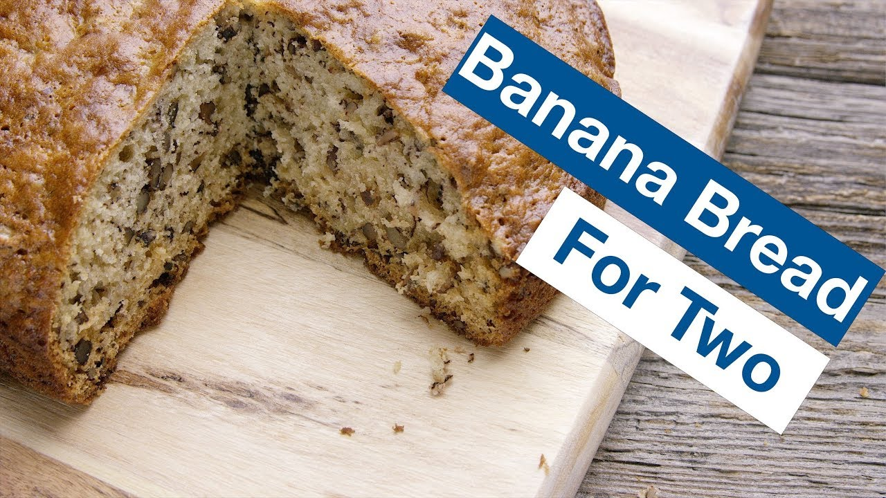 Banana bread for two recipe le gourmet tv youtube banana bread for two recipe le gourmet tv forumfinder Image collections