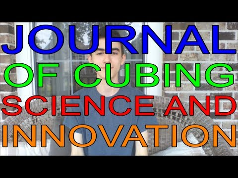 CRAZY Announcements! | Journal of Cubing Science and Innovation