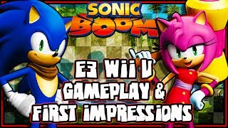 Sonic Boom E3 2014 Wii U Gameplay, Opinions, & First Impressions