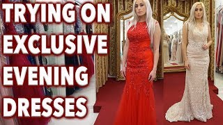 MY SAVE THE DATE DRESSES ||  Stunning Evening Gowns Try-On !!! || EXCLUSIVE MALTA