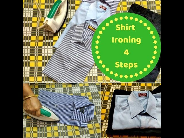 Easya ????? ?????? ??????? ?????? | How to iron shirt in tamil | Easy User guide