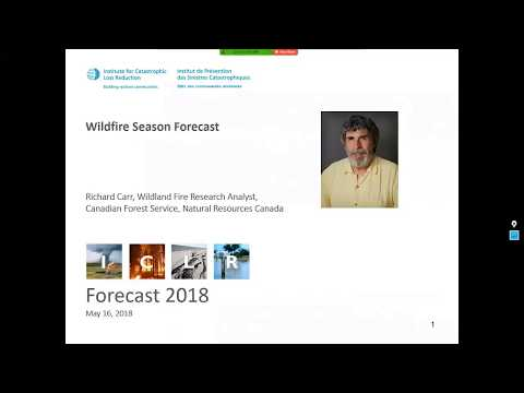 ICLR Forecast: 2018 Wildfire Season (May 16, 2018)