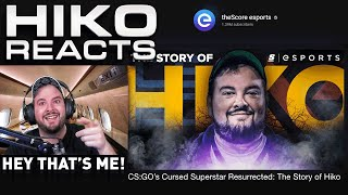 Reacting to The Story of Hiko: CS:GO's Cursed Superstar Resurrected