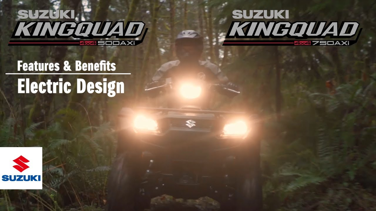 Kingquad 750 500 Axi 4x4 Steering Official Technical Presentation Video Electric