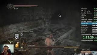 Speed Game - Dark Souls II - Speed run All Bosses
