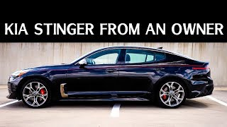видео KIA Stinger