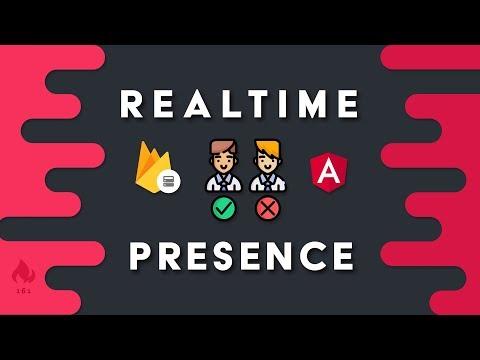 Realtime User Presence with Firebase & Angular - Online | Offline | Away
