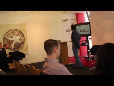 Bek Muslimov talk at Cass Business School, London