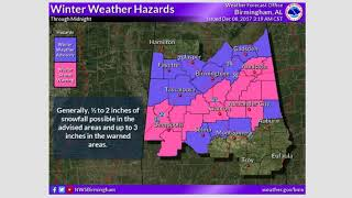 Weather Xtreme Video for Friday, December 8, 2017