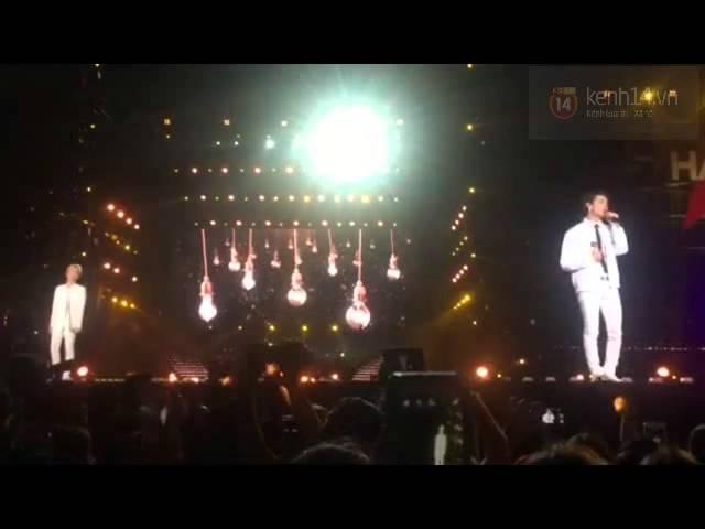 """[Music Bank in Hanoi][Fancam]Key , Chunji , JB biểu diễn """"Yêu Lại Từ Đầu"""" (Khắc Việt)"""