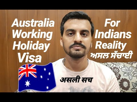 AUSTRALIA WORKING HOLIDAY VISA FOR INDIANS