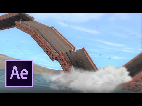 Golden Gate Bridge Collapse (After Effects VFX) Explosion