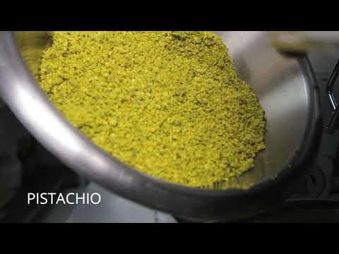 Pistachio Sponge Cake