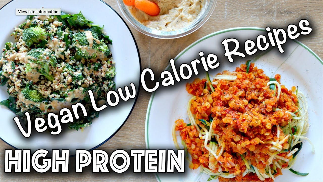 Low calorie high protein vegan recipes gluten free too youtube low calorie high protein vegan recipes gluten free too forumfinder Choice Image