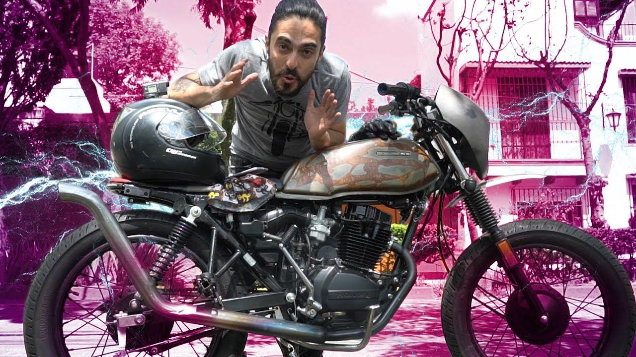 primera vez manejando la moto y se rompi una pieza youtube. Black Bedroom Furniture Sets. Home Design Ideas