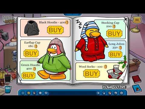 Segredos Do Catálogo Estilo Pinguim No Club Penguin Brasil (Janeiro - 2020)