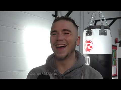 ALEX HUGHES, aiming for Welsh middleweight title & can't wait to be back in boxing!!!