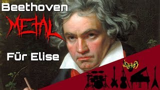 Ludwig van Beethoven - Für Elise (Bagatelle No. 25 in A minor) 【Intense Symphonic Metal Cover】 - Stafaband