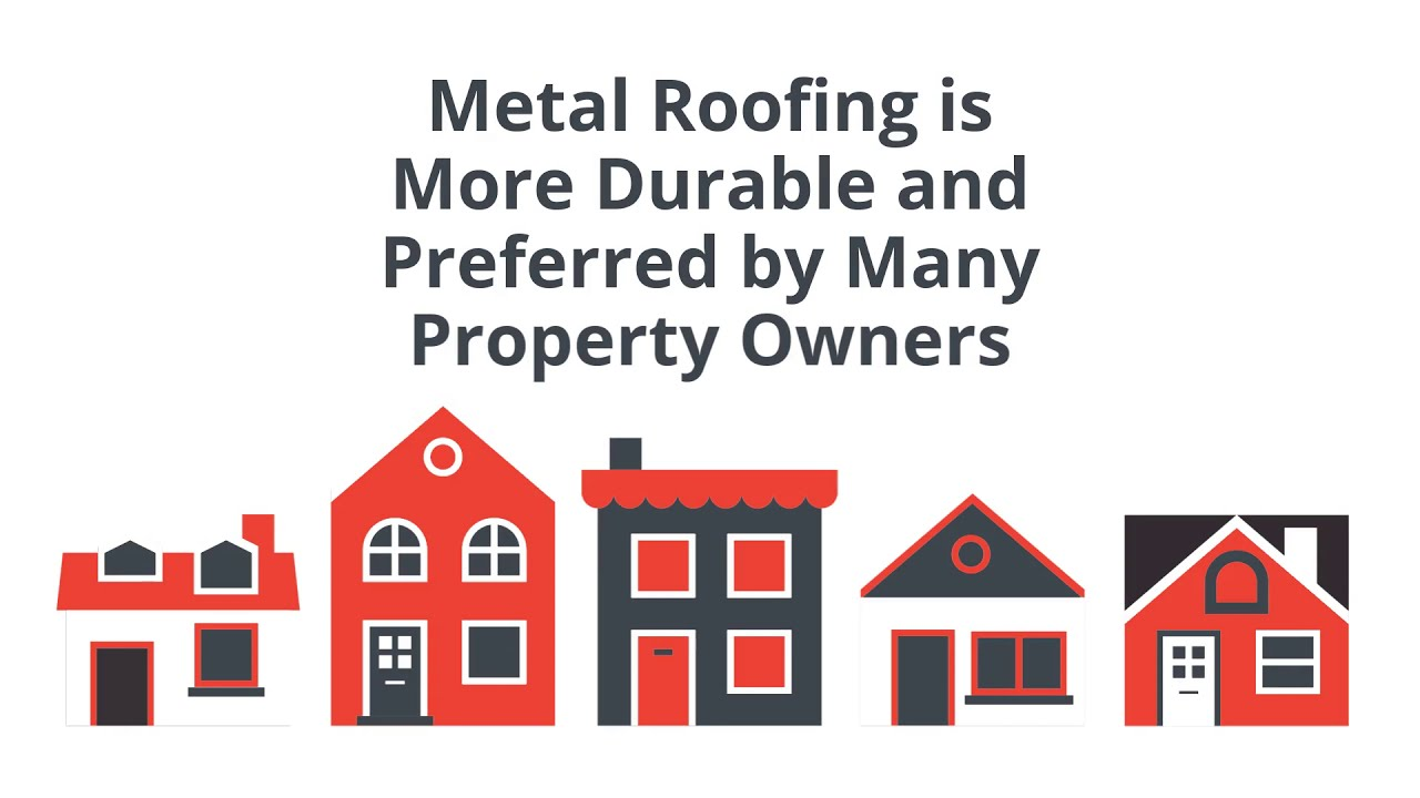 Metal Roofing is More Durable and Preferred by Many Property Owners | King Koating Roofing
