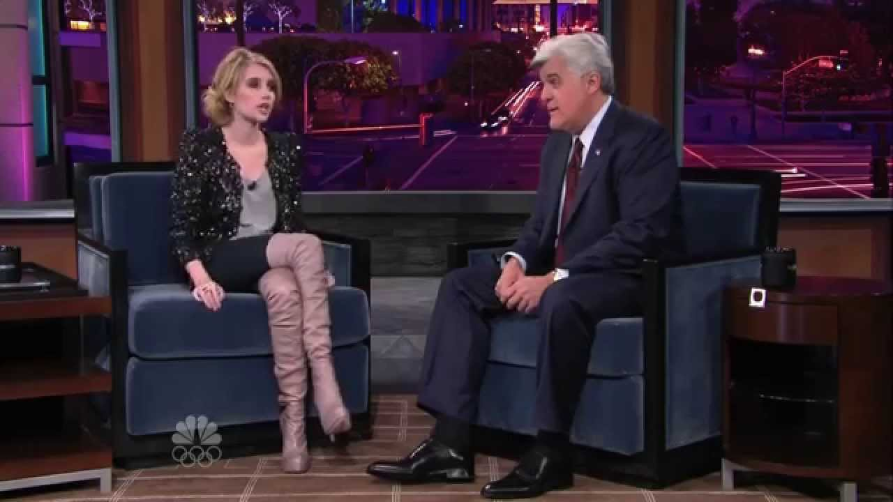 Emma Roberts Thigh Boots In HD - YouTube