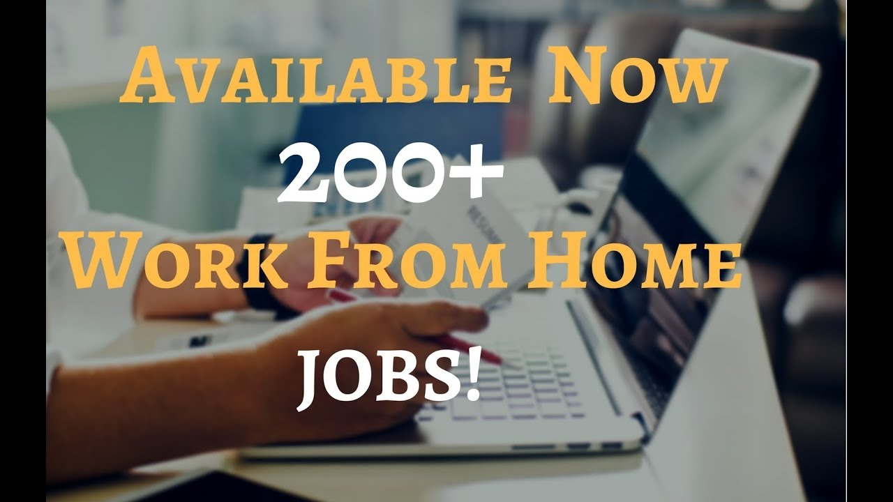 Us based work from home jobs