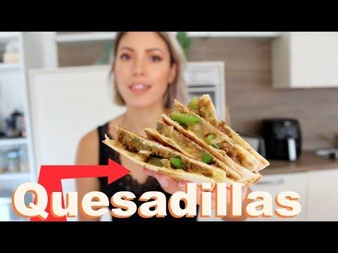 Quesadillas mit Blumenkohl-Hack VEGAN   #yummypilgrim