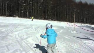 7歳 こどもスキー thumbnail
