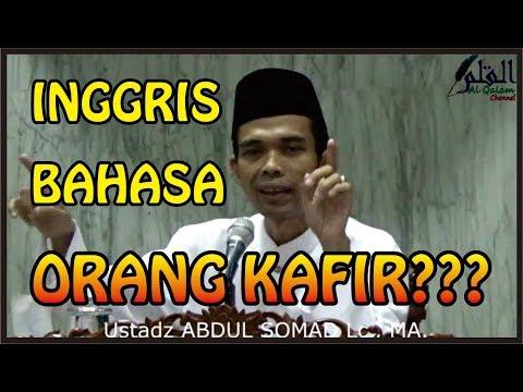 Ustad Abdul Somad menjelaskan apakah Bahasa Inggris hanya milik orang kafir???