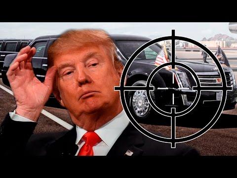 Прямое попадание из БАЗУКИ, а лимузину пофиг Автомобили Трампа ненормальные авто