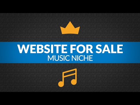 Website For Sale – $1.9K/Month in Music Niche, Info Product and Private Affiliate Business