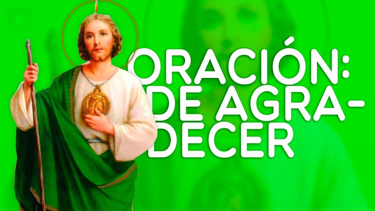 Oraciones A San Judas Tadeo De Agradecimiento