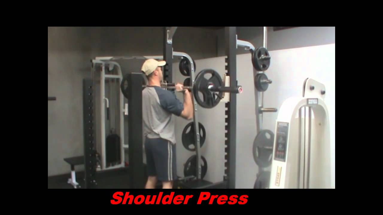 Muscle Motion Commercial Heavy Squat Power Rackwmv Youtube