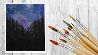 как нарисовать космос /space watercolor / art make(Ну вот видео на канале!!! Думаю тебе оно понравится и ты поставишь лайк👍🎥 И Подпишишся на мой канал ✓-..., 2016-08-03T11:43:16.000Z)