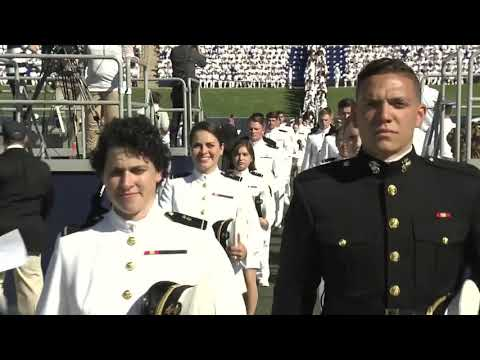 United States Naval Academy Commissioning - Naval Academy Graduation Ceremony, Part 1 (2019) 🇺🇸