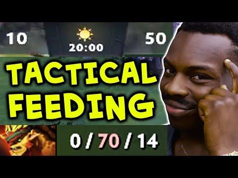 TACTICAL FEEDING 200 IQ Divine strat — COMEBACK with 0-70-14 FEEDER