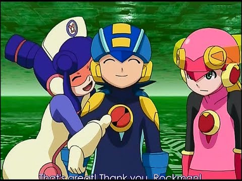 Megaman/Rockman EXE Stream 38: Roll vs Meddy, a battle of love over their shared crush