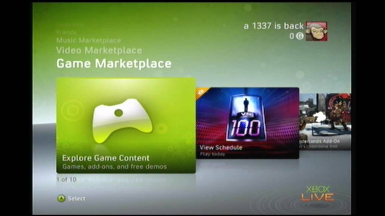 how to get free xbox live youtube
