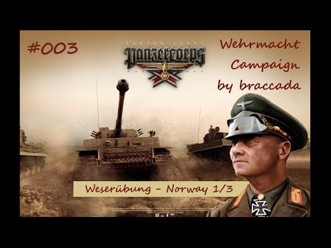 Panzer Corps Wehrmacht on Rommel #003 - Norway (1/3)