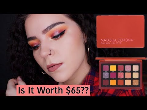 NATASHA DENONA SUNRISE PALETTE | Is it worth $65?? thumbnail