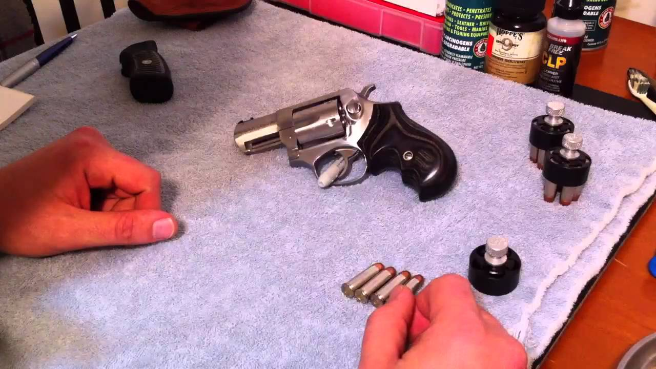 Ruger Sp101 With Badger Grips And Small Wonder Sights