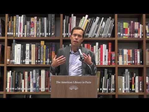 Adam Roberts @ The American Library in Paris   11 October 2017