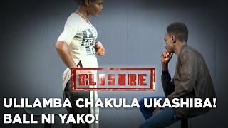 Ulilamba Chakula Ukashiba! Ball Ni Yako!