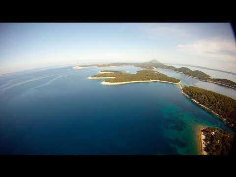 Drone flight over Croatia