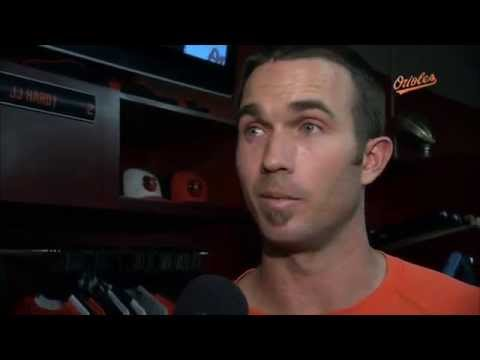 J.J. Hardy talks about the Orioles' offensive explosion against the Rays