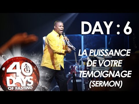Pst Gregory Toussaint |40-DAY FAST-DAY 6 I overnight miracle