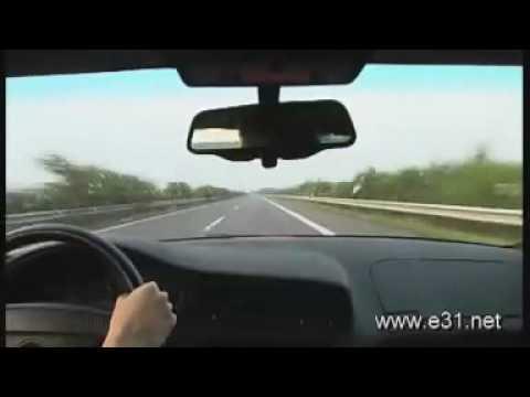 BMW 850 CSi 300 kmh.flv