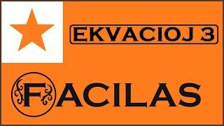 EKVACIOJ 3 (ESPERANTO)
