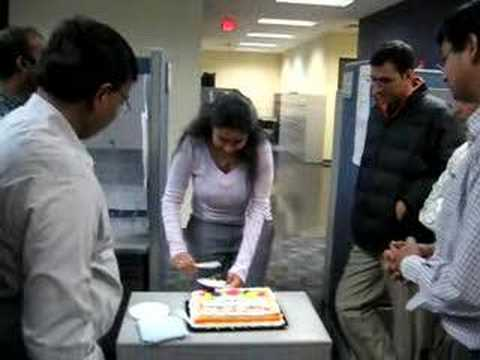 my 25 bday in US-with Cognizant