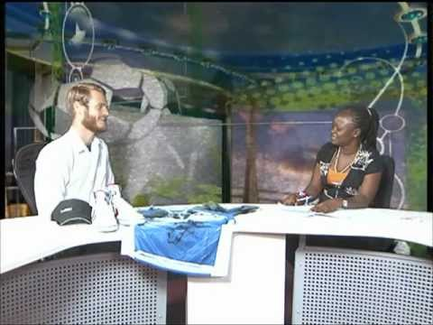 SLBC Sport News Interview - Sierra Leone Jungle Run 2012