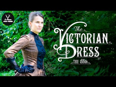 Das Viktorianische Kleid ca. 1880